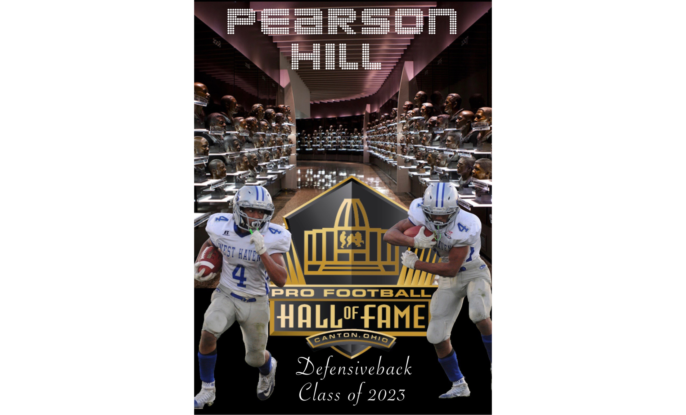 Pearson Hill headed to Canton, OH