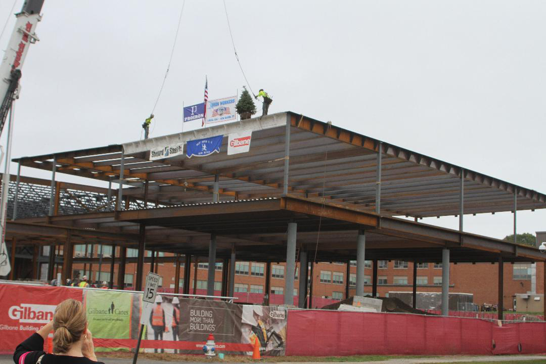 'Topping off' marks WHHS milestone
