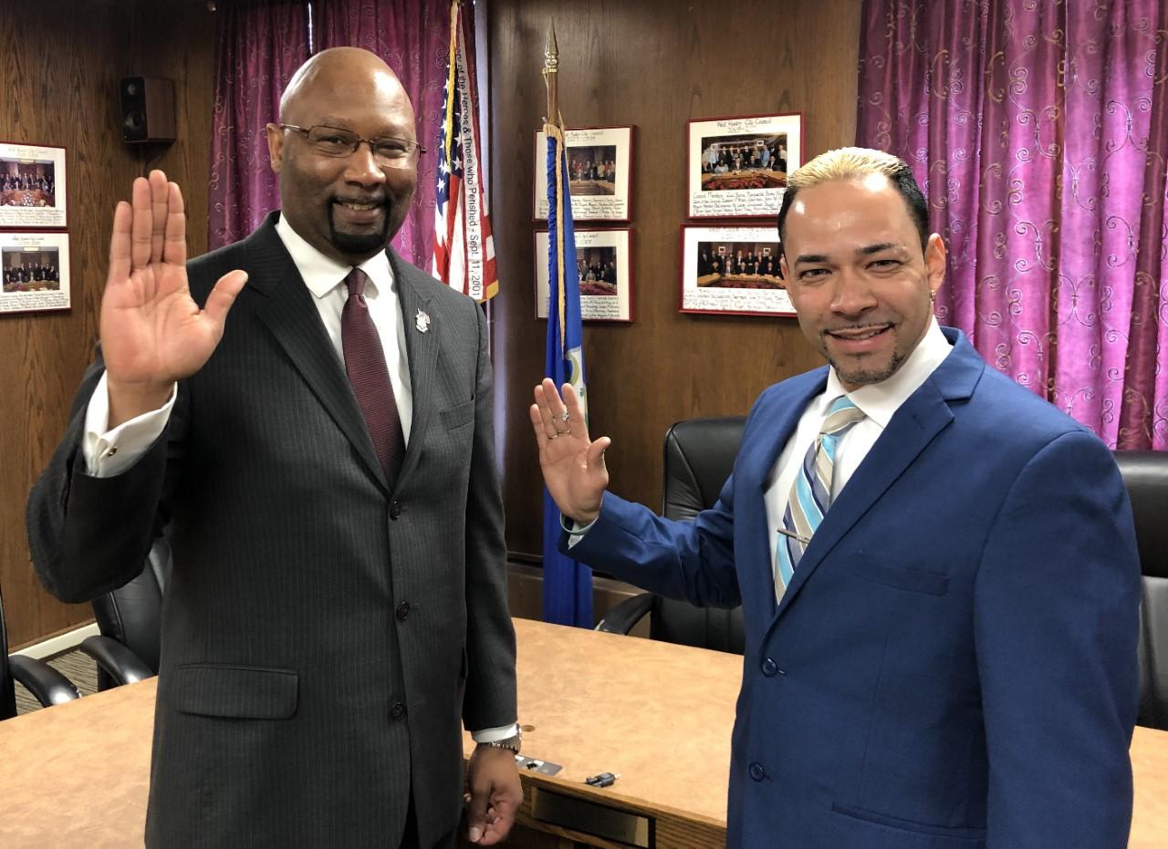 Rivera sworn in