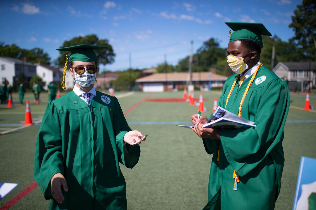 Notre Dame graduates Class of 2020