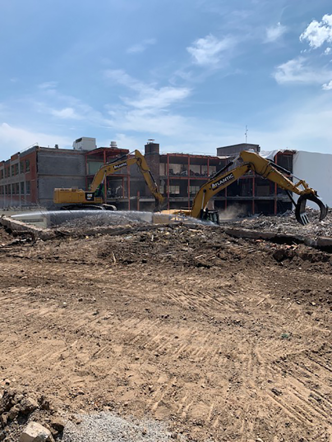 High School construction heads into the final stage