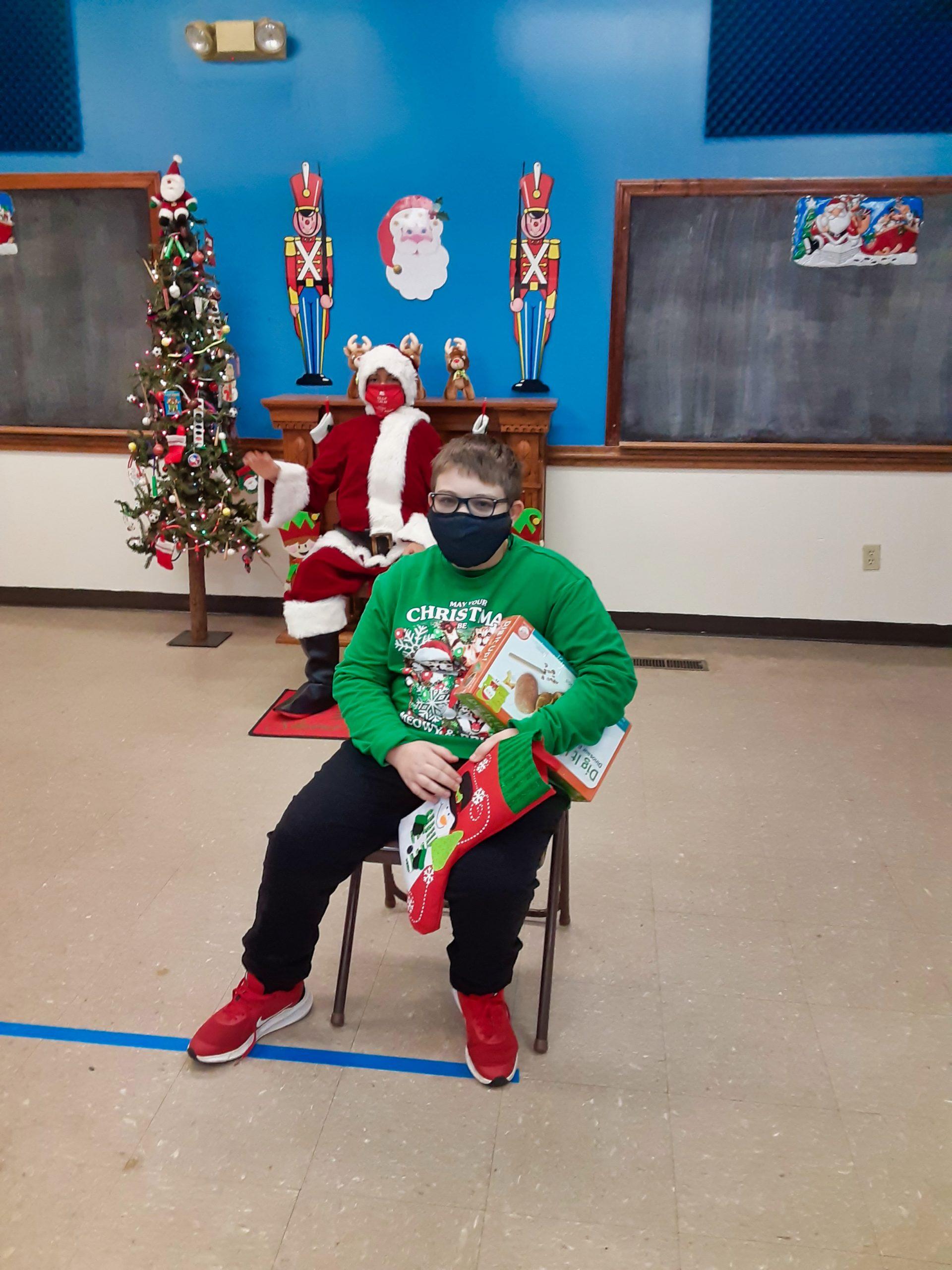 Santa's workshop brings joy