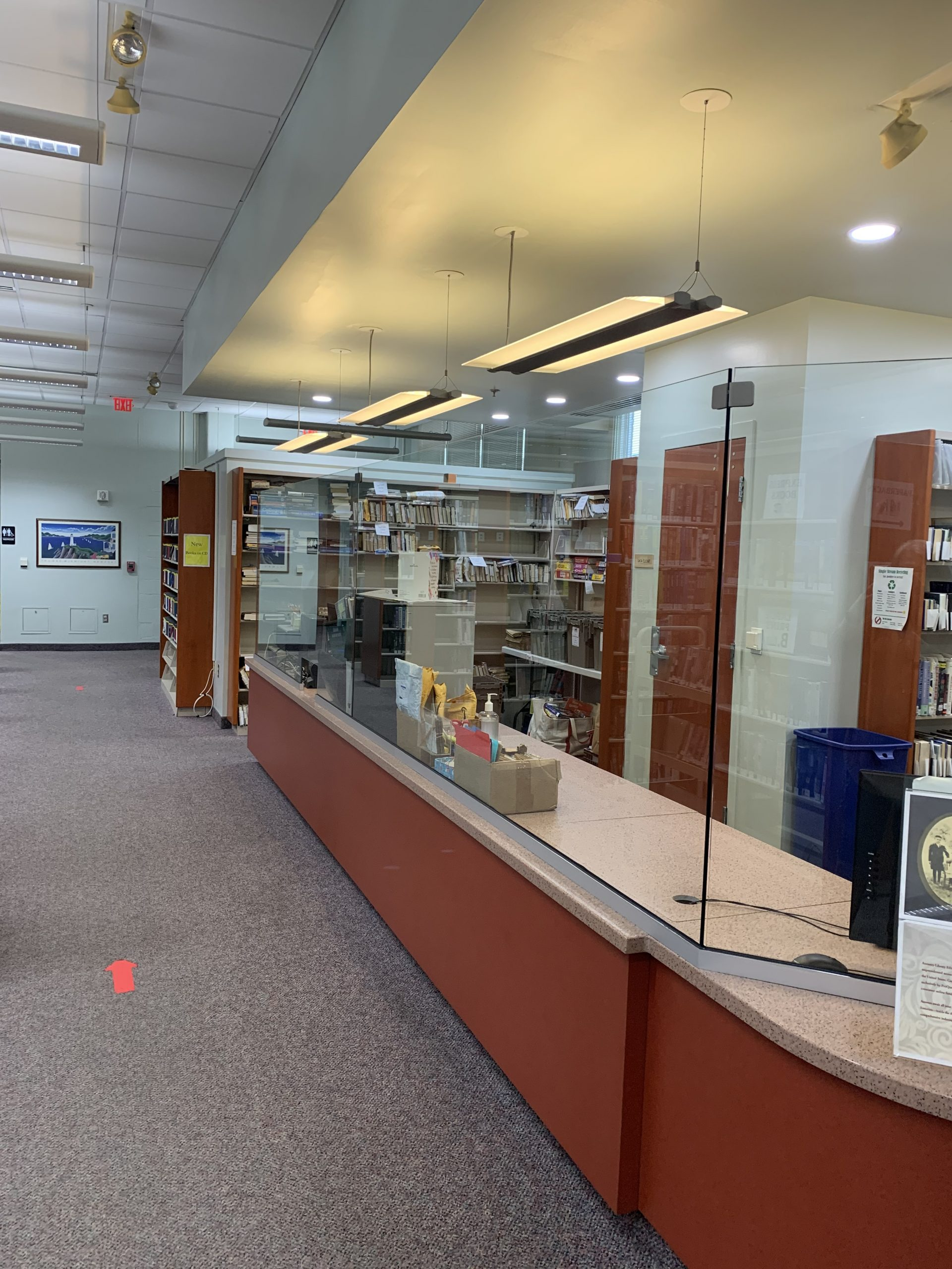 Library gets programming, COVID upgrades