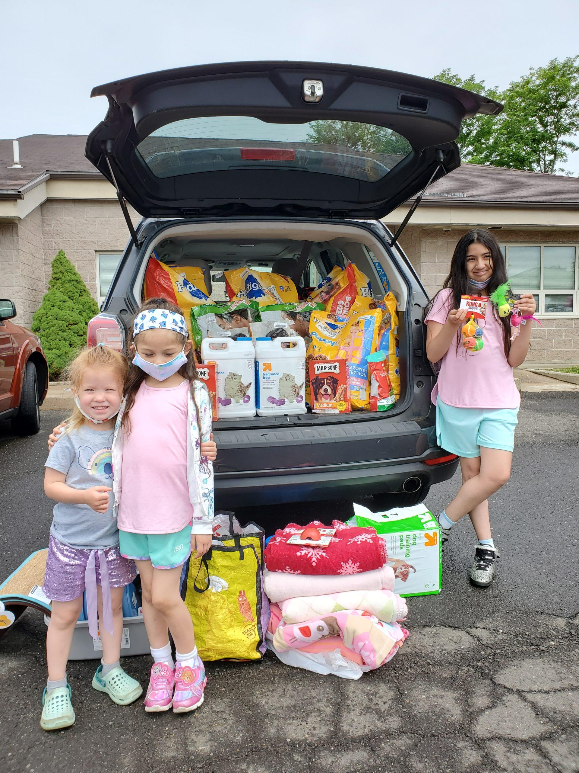 Raising funds for shelter