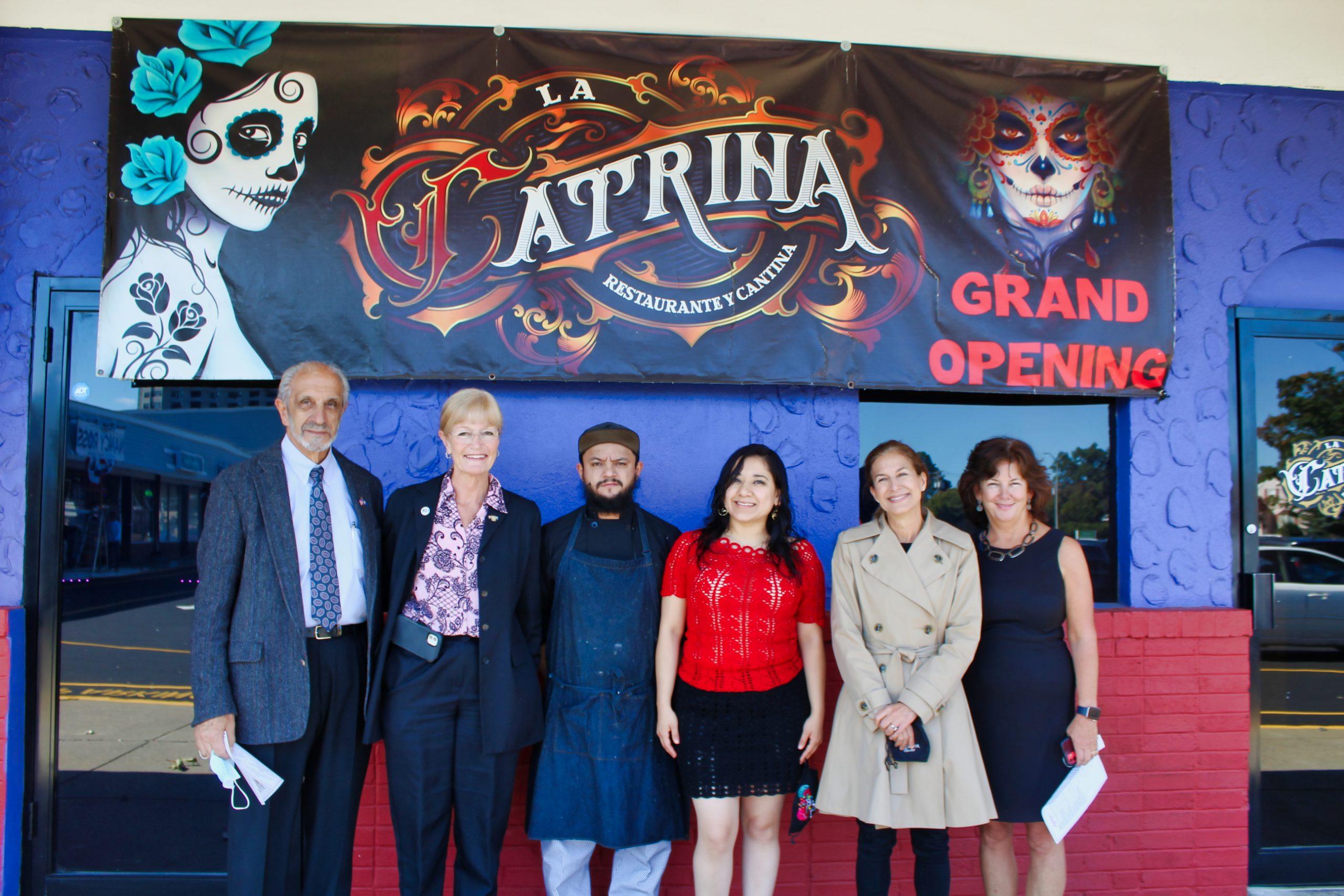 Officials tour city's Hispanic businesses