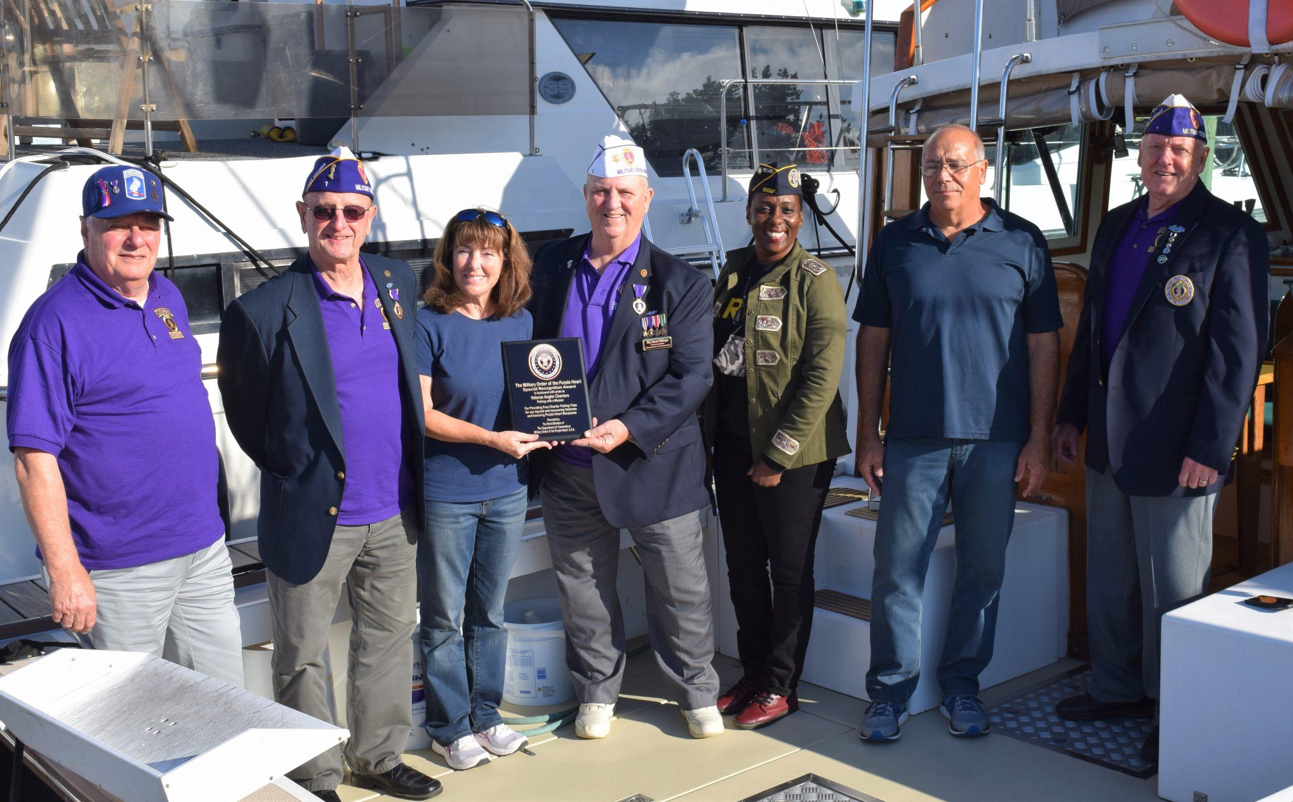 Veterans' groups honor Granfield